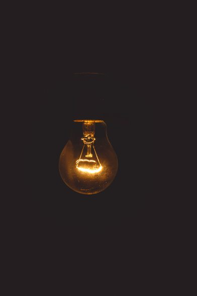 black-background-bulb-close-up-716398