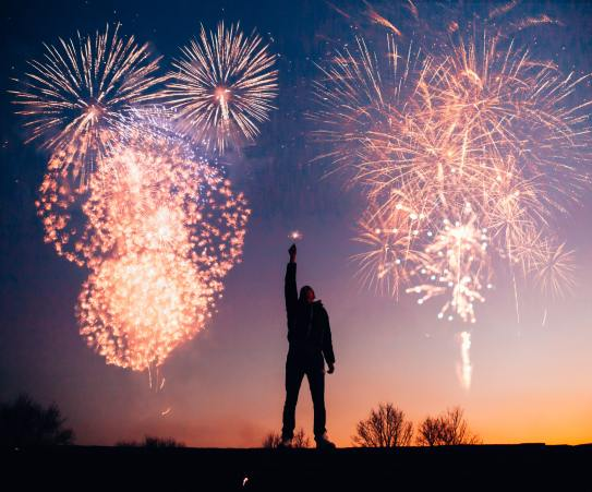 man-with-fireworks-769525